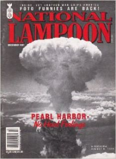 National Lampoon (December 1991) the Uncivil War; the Uppest Class; the Crust Club; Kyle Baker's Petty and Vindictive Funnies; Luxuty Novelties (Vol. 2, No. 132): Robert Leighton, Chris Kelley, Anne D Bernstein, John Derevlany, Daniel O'Keefe, Larr
