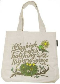 The Outfit Sky High Hopes Canvas Vegan Tote: Clothing