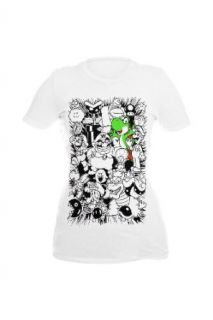 Nintendo Super Mario Bros. Yoshi Sketch Girls T Shirt Size  Medium Clothing