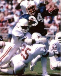 Bo Jackson 16x20   Auburn Breaking Tackle : Sports Related Collectibles : Sports & Outdoors