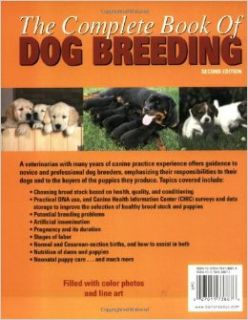 The Complete Book of Dog Breeding: Dan Rice D.V.M.: 0027011738876: Books