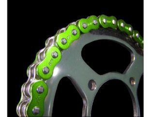 EK Chain 530 ZVX2 Quadra X Ring Chain   140 Links   Metallic Green , Chain Length: 140, Chain Type: 530, Color: Green, Chain Application: Offroad 903 530ZVX2 140 MET GRN: Automotive