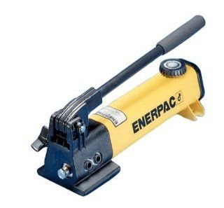 Enerpac P 142 Two Speed 10,000 psi Light Weight Hydraulic Hand Pump
