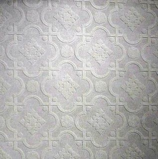 Paintable Wallpaper Pressed Tin Look Textured 148 62992   Tin Tile Paintable Wallpaper