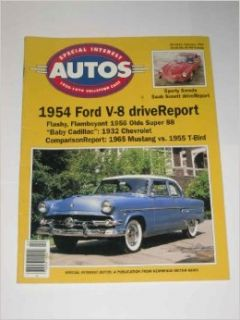 Special Interest Auto February 1995 #145 1954 Ford V 8 Inc. Special Interest Publications Books