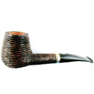 Savinelli Piazza di Spagna Rusticated (145 KS) Tobacco Pipe: Kitchen & Dining