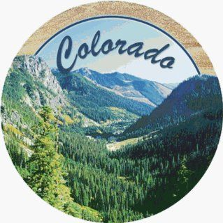 Mt. Evergreen Colorado Coaster (Set of 4): Kitchen & Dining