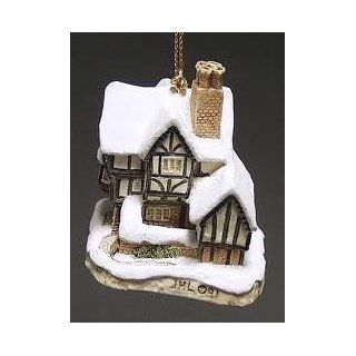 David Winter Cottages Mister Fezziwig's Emporium Christmas Ornament By John Hine Studios   Decorative Hanging Ornaments