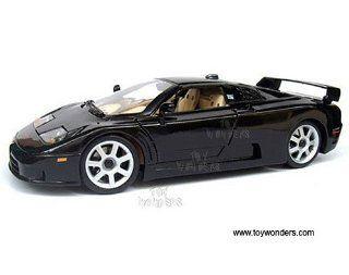 31700bk Maisto   Dauer Eb110 Hard Top (118, Black) 31700 Diecast Car Model Auto Vehicle Die Cast Metal Iron Toy Transport Toys & Games