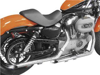 Cycle Shack 1 3/4in. Drag Pipes Exhaust System   Slash Cut   Chrome , Color: Chrome PHD 161: Automotive