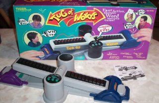1998 Tiger Electronics Game   Tug of Words   Word Association Game Toys & Games