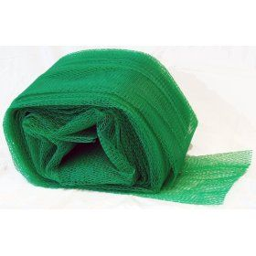 "Industrial Netting NG2090 164 Vexar LDPE Superduty Elastic Protective Sleeve, 10"" to 12"" Diameter, Green (Box of 164 Feet): Industrial & Scientific"
