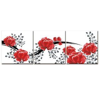 Beautiful Rose 3D Stamped Cross Stitch Kit   55.1inch By 19.3inch: Arts, Crafts & Sewing