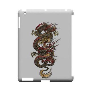 Dragon on White   Geeks Designer Line Tattoo Series Hard Case for Apple iPad 2nd Generation: Computers & Accessories
