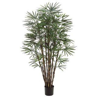 7' Honey Lady X17 Silk Palm Tree w/Pot (case of 2)   Artificial Trees