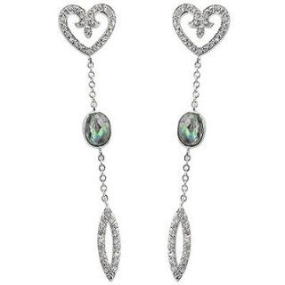 Filigree Heart Dangles: Jewelry