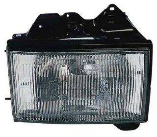 PASSENGER SIDE HEADLIGHT Isuzu Trooper HEAD LAMP ASSEMBLY; RH: Automotive