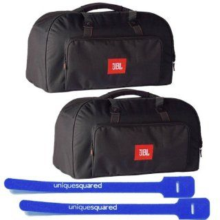 JBL EON15 BAG DLX 3rd Gen Padded Carry Bag PAIR w/ Cable Ties: Musical Instruments