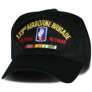 173RD AIRBORNE BRIGADE* VIETNAM VETERAN W/CAMPAIGN RIBBON EMBLEM Ball Cap/ Hat: Everything Else