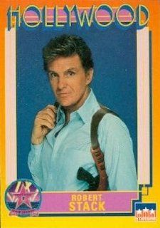 Robert Stack trading Card (Actor) 1991 Starline Hollywood Walk of Fame #173: Robert Stack: Collectibles & Fine Art