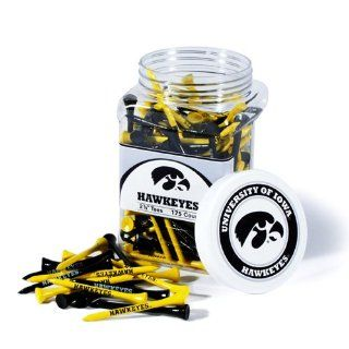 Iowa Hawkeyes 175 Pc. Golf Tee Jar: Sports & Outdoors