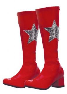"1031 kids 175 STAR 1.75"" Heel Gogo Boot With Star. Children: Shoes"