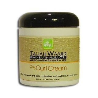 Black Earth Taliah Waajid Curl Cream 6 oz: Beauty