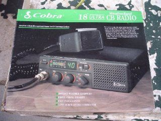 Cobra 18 Ultra Weatherband 40 channel CB Radio Electronics