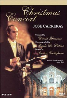 Jose Carreras   Christmas Concert: Jose Carreras, Enrico Castiglione: Movies & TV