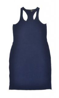 RLX Ralph Lauren Women Knit Spring Dress (S, Navy/white): Clothing