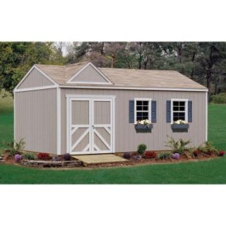 Handy Home Somerset Storage Shed 10 x 14 ft  Storage Sheds