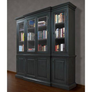 A and E Kamran Wall Bookcase   Pearl White   Bookcases
