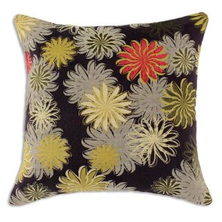 Petal Faster / Daisy 17 in. Square Pillow   Decorative Pillows