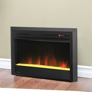 Muskoka 27 in. LED Electric Firebox with Crushed Glass   Electric Inserts