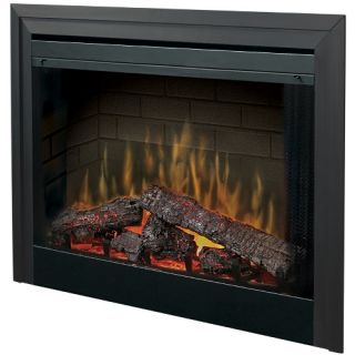 Dimplex 39 in. Built In Electric Fireplace Insert   Electric Inserts
