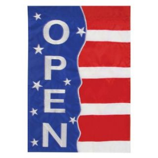 Toland 28 x 40 in. Patriotic Open Applique Garden Flag   Flags