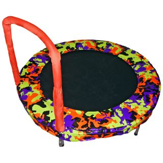 Bazoongi 48 in. Bouncer   Orange Camo   Trampolines