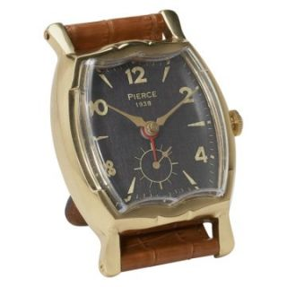 Uttermost Wristwatch Alarm Square Pierce Desktop Clock   Alarm Clocks