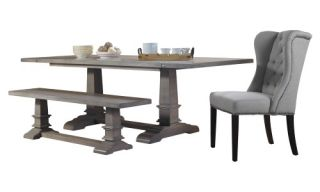 A and E Provence Farmhouse Dining Table   Dining Tables