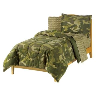 CHF Geo Camo Mini Bed in a Bag   Boys Bedding