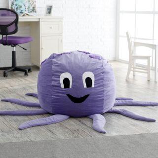 Octopus Critter Foam Bean Bag Chair   Bean Bags