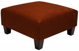 Blake Upholstered Cocktail Ottoman   Coffee Tables