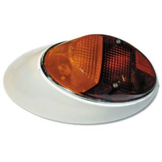 1962 1967 Volkswagen Beetle Tail Light   EMPI, Direct fit, Without bulb(s), Red and amber lens