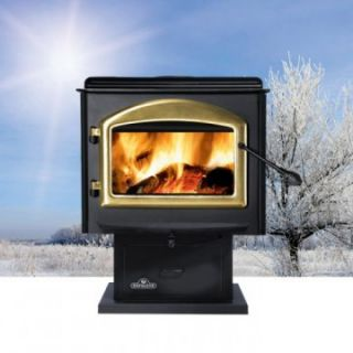 Napoleon Medium Wood Stove with Pedestal   Wood Stoves