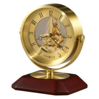 Howard Miller 645 674 Soloman Skeleton Desktop Clock   Desktop Clocks
