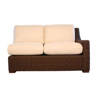 Lloyd Flanders Mesa All Weather Wicker Left Arm Loveseat Sectional   Patio Chairs