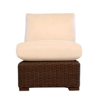 Lloyd Flanders Mesa All Weather Wicker Armless Sectional Chair   Patio Chairs