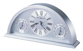 Howard Miller Weatherton Desktop Clock   Thermometers