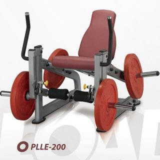 SteelFlex Plate Load Leg Extension   Single Station Gyms