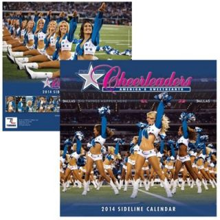 Dallas Cowboys Cheerleaders 2014 Wall Calendar